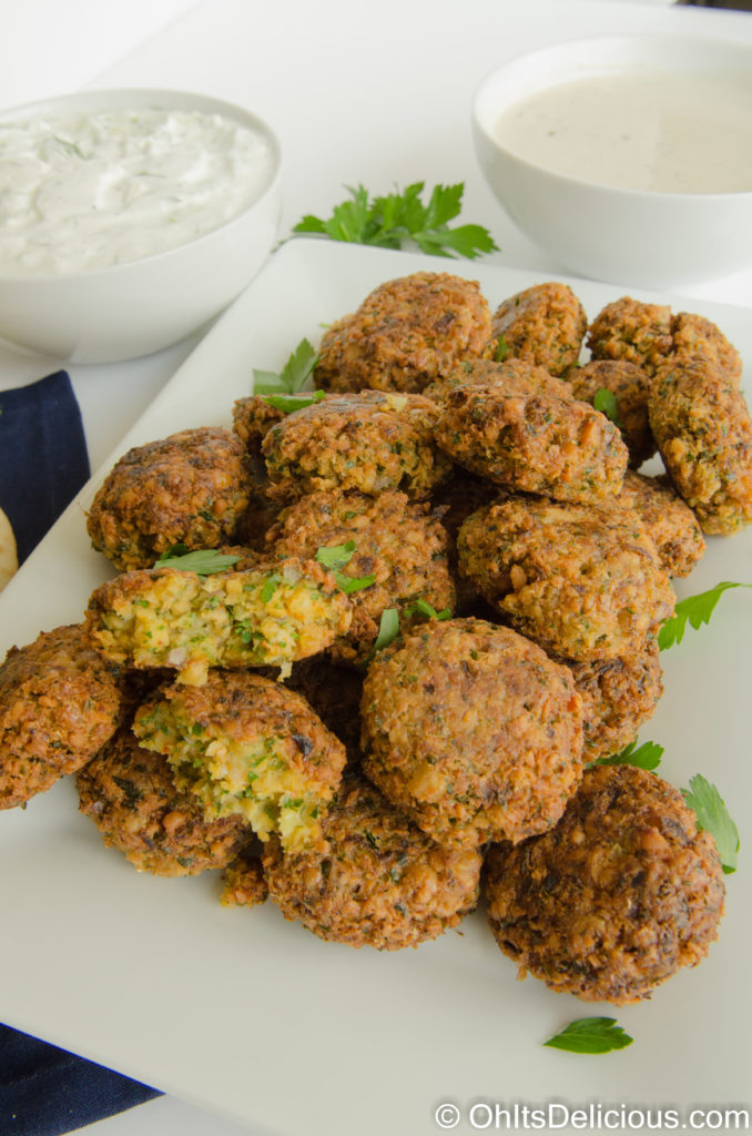 Quick Falafel Recipe Using Canned Chickpeas | Oh It's ...